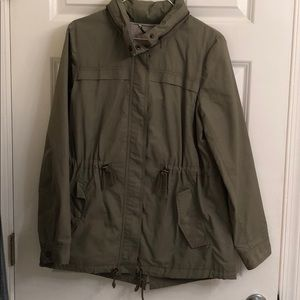 Banana Republic rain jacket type coat.  Sz M